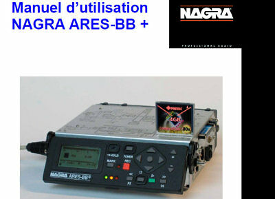Nagra Ares-bb+ Manuel D'utilisation Printed En Francais Digital Audio Recorder   • 15.99£