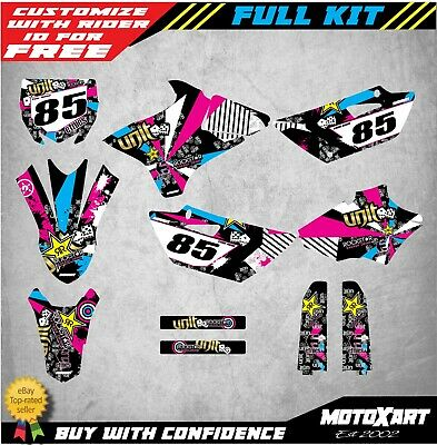 AU149.40 • Buy YAMAHA YZ 85 2015 - 2019 RUSH STYLE Stickers Kit Full Custom Graphics
