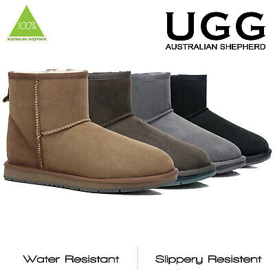 AU79 • Buy UGG Boots Premium Australian Sheepskin Mini Classic Water Resistant Boots 15701