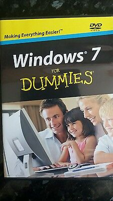 Windows 7 For Dummies By Andy Rathbone Windows 7 DVD NEW • 5£