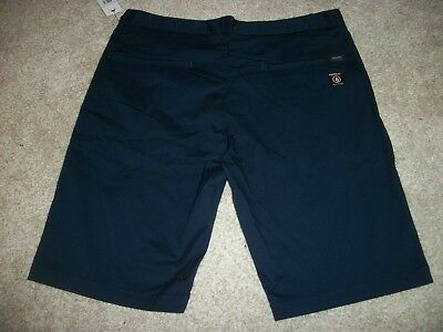 $34.95 • Buy VOLCOM STONE New NWT Mens Casual Chino Frickin Shorts Blue Navy 863 Style Number