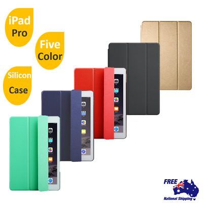 AU10.62 • Buy PU Leather Stand Case Cover/ Tempered Glass Screen Protector For IPad Pro 10.5