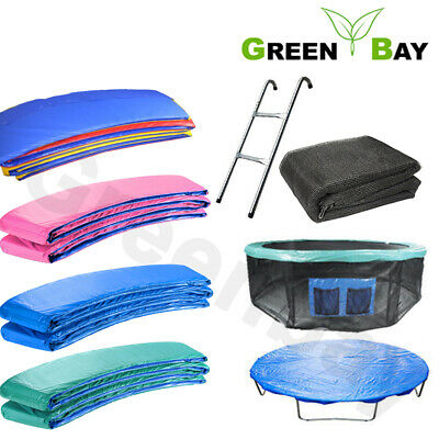 £36.95 • Buy Trampoline Replacement Spring Cover Padding Safety Net Rain Cover Skirt Greenbay