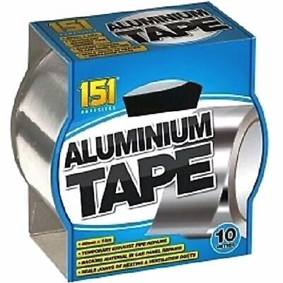 £5.95 • Buy 1 X 10 Metre Aluminium Tape Strong And Reliable Temporary Exhaust Pipe Repairs