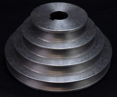 AU71.27 • Buy Aluminium Pulley 4 Step V Pulley Stepped A Groove 3 /4 /5 /6  VEE PULLEY
