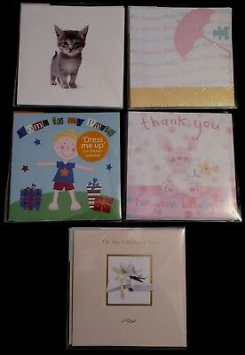 ANNOUNCEMENT CARDS. Pack Of 10 Cards & Envelopes. NEW HOME • 2.99£