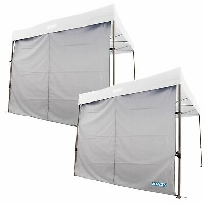 AU75.90 • Buy 2x Adventure Kings Gazebo Side Wall 3x3m 6x3m Waterproof Portable Waterproof