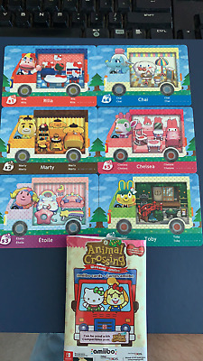 AU19.47 • Buy Animal Crossing New Leaf Welcome Amiibo Festival Cards Works In New Horizons