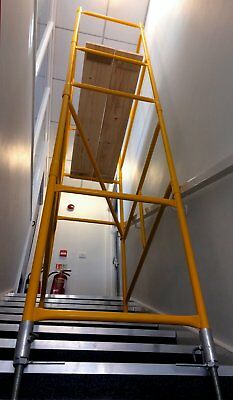 Scaffold Tower PLUS Stairwell Tower Kit - FREE DELIVERY Included • 299£