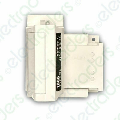 £23.10 • Buy Henley 54138-12 House Service Cut Out Series 7 SP&N 100 Amp (Less Fuse)