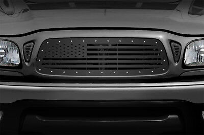 $399.95 • Buy Custom Aftermarket Steel Grille AMERICAN FLAG Fits: 01-04 Toyota Tacoma Truck