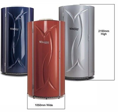 Tansun Vitesse Vertical Tanning Stand Up Sunbed With NEW Tubes & RENTAL Option • 2,999£