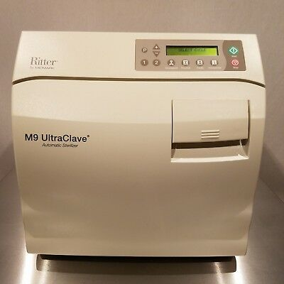 $3499 • Buy Refurbished Autoclave Ritter Midmark M9 Ultraclave Sterilizer Excellent Cond