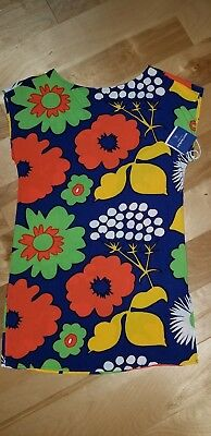 c34f275e2ca Marimekko For Target Women's Kukkatori Dress Tunic Cover Up NEW • 17.99$