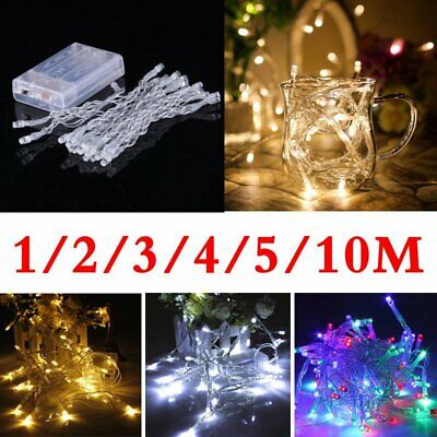 £3.41 • Buy Battery Operated Fairy Lights Flashing Starry Christmas Tree GardenDecoration