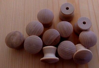 $4.25 • Buy Drawer Pulls - 1  Wooden Knobs - 12 Pieces