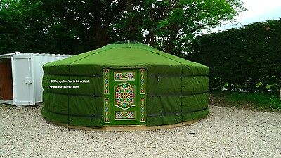 Authentic Mongolian Ger/ Yurt 6.4m Diameter Made In Our Own Workshop In Mongolia • 6,245£