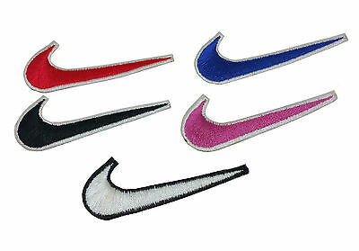 Nike Embroidered Iron On Sew On Patch Badge Logo Sports Applique • 1.99£