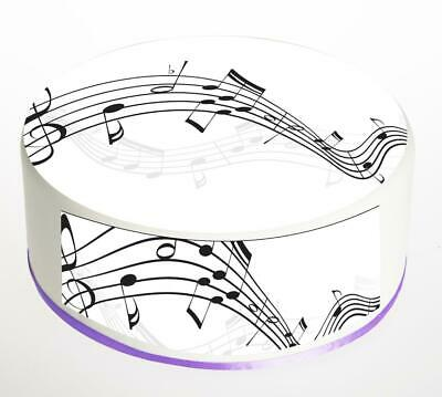 £4.99 • Buy Music Notes Cake Topper; Rice Paper,Icing, Personalised Decoration.856