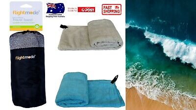 AU18.41 • Buy Microfibre Travel Towel Lightweight Quick Drying Ultra Absorbent Gym Sport AU