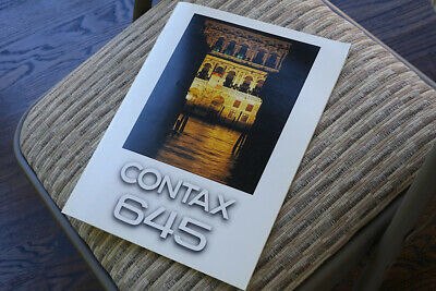 $ CDN63.29 • Buy New Collectable Contax Brochure On Medium Format 645 SLR Camera+ 80mm F2 Lens