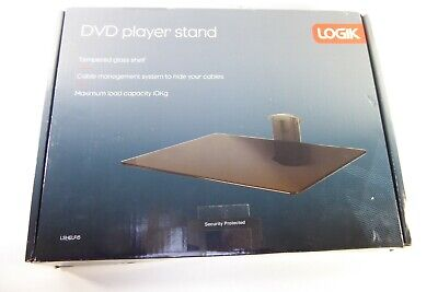 LOGIK Tempered Glass DVD Shelf, Model LSHELF15 (NEW - BOXED) 1606806 • 15£