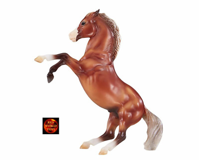 £24.99 • Buy Breyer Horse Toy Model 947 Classic Scale Silver Bay Mustang Rearing Horse New