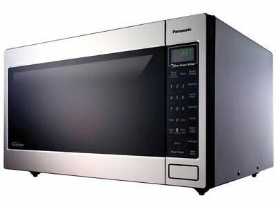 Panasonic 2 Cu Countertop Microwave Oven In Stainless Steel Built 5067