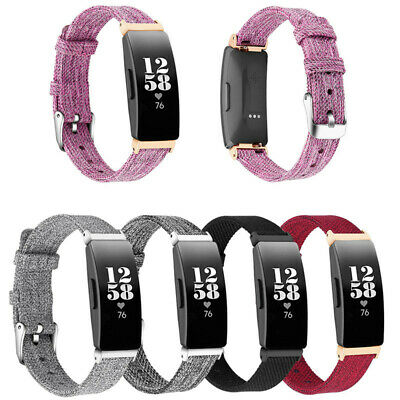 AU13.99 • Buy Replacement Nylon Sport Band Wrap Bracelet Strap For Fitbit Inspire HR & Inspire
