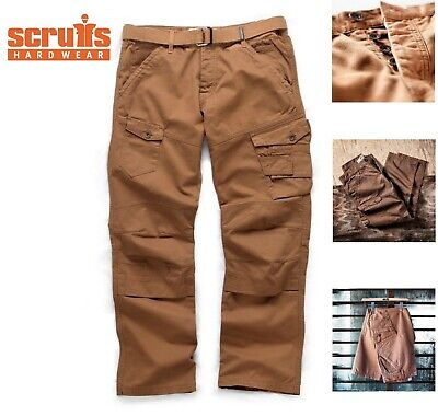 Scruffs Drezna Twill Work Trousers HEAVY DUTY C/W Free Matching Belt  • 19.50£
