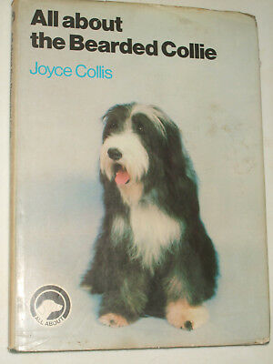 All About Bearded Collie Dog Care Book Training Health Owning Breeding Guide • 5.99£