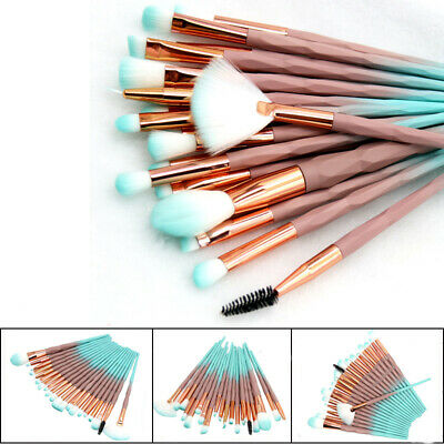 AU12.97 • Buy 20PCS Unicorn Makeup Brushes Set Foundation Blush Eyeshadow Eyebrow Brush Tools