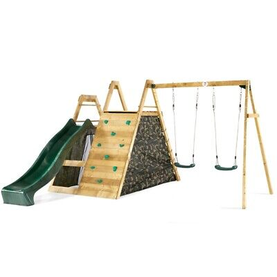 £639.95 • Buy Plum Climbing Pyramid Wooden Climbing Frame With Swings