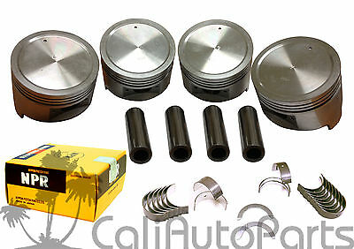 AU154.21 • Buy 88-92 Isuzu Pickup Rodeo 2.6  4ZE1 SOHC Pistons Rings & Main Rod Engine Bearings
