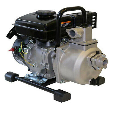 AU209 • Buy 1  Petrol 2.5HP Water Pump With 4 Stroke Motor Engine Transfer Camping Garden