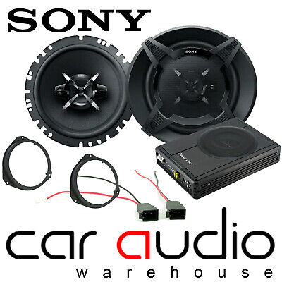 Vauxhall Vivaro MK2 SONY Front Door Car Speakers & 300W Underseat Sub Kit • 199£
