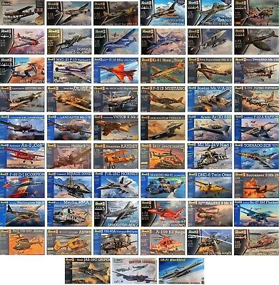 Revell 1/72 Planes Aircraft Military Plane Aeroplanes New Plastic Model Kit 1 72 • 7.95£