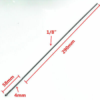 £11.50 • Buy 4mm X 350mm Flex Cable Thread 58mm X 20mm Soft Prop Shaft For RC Boat
