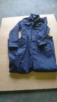 Ladies Or Mens Or Kids Navy Blue Colour Proban Boilersuit Or Overalls. • 11£