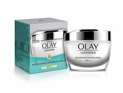 AU32.51 • Buy Olay White Radiance Brightening Intensive Cream SPF 24 UVA/UVB Moistuiser, 50g