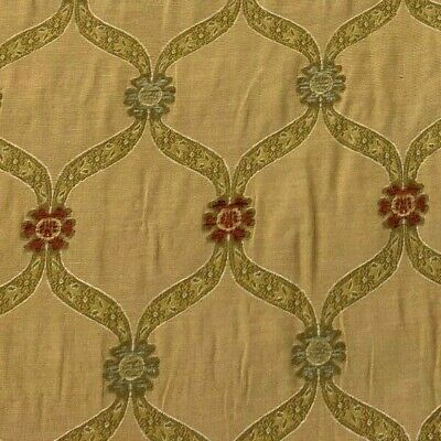 Voyage Decoration  Cyprus Trellis  Jacquard Fabric | Per Meter | In Stock Now • 19.95£