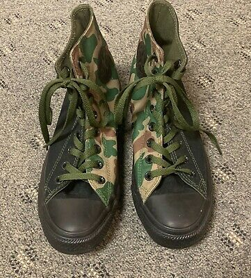 £36.36 • Buy WOMENS CAMO CONVERSE HIGH TOP PERSONALIZED  Carra  SIZE 9 NEW WITHOUT  BOX