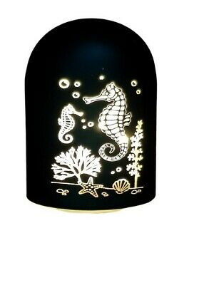 £6.99 • Buy LED Seahorse Light Up Dome Glow In Dark Decor Battery Operated Gift Centrepiece