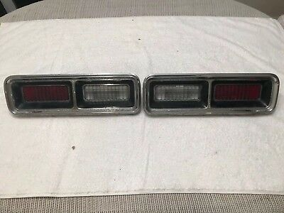 $35 • Buy 1968 Chevrolet Camaro Left And Right Tail Lights