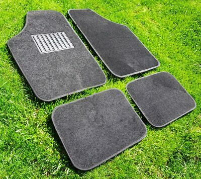 £27.53 • Buy LHD Quality Black Carpet Car Floor Mats Front And Rear Black Stitching Universal