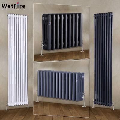 Traditional 2 3 Column  Vertical Horizontal Radiator For Heating Cast Iron Style • 89.99£