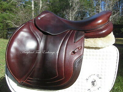 $ CDN4038.54 • Buy 18  CWD SE01 CALFSKIN French Close Contact Jumping Saddle-3C Flaps-*ON TRIAL*