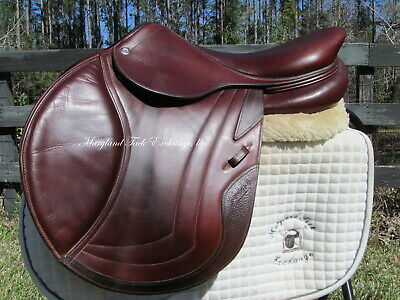$ CDN4544.94 • Buy 17.5  CWD SE03 CALFSKIN French Close Contact Jumping Saddle 3C-2017 MODEL!!