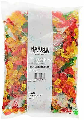 $20.99 • Buy Haribo Gummi Candy Gold-Bears 5-Pound Bag