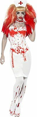 Smiffy's Ladies  Blood Drip Nurse Costume Small With Extra Accessories Pack New! • 9.99£